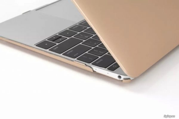ốp nhựa macbook gold